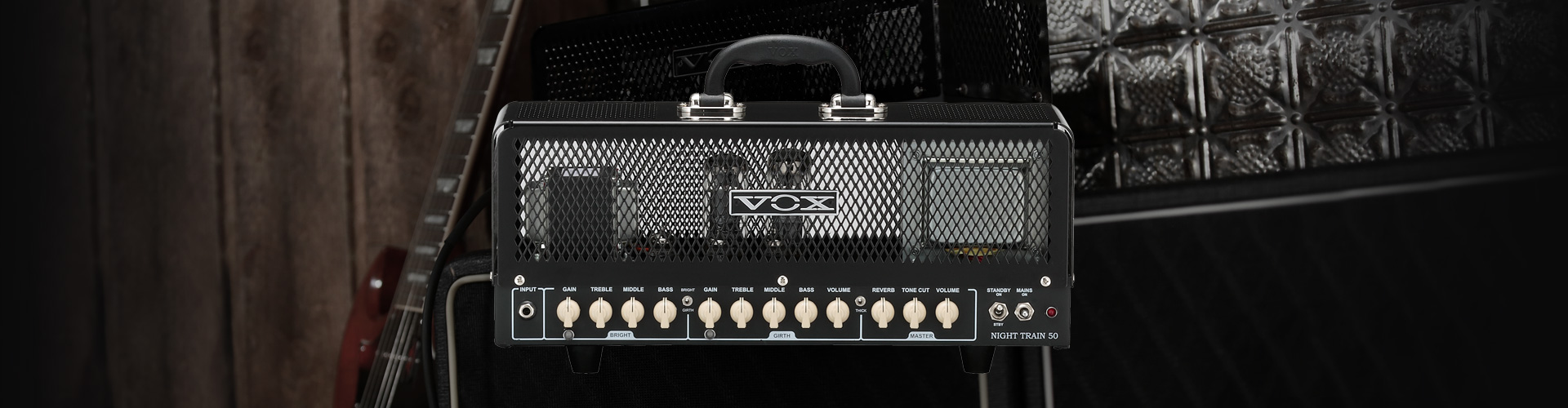 VOX Night Train NT50H-G2 Head/Cab 吉他音箱头